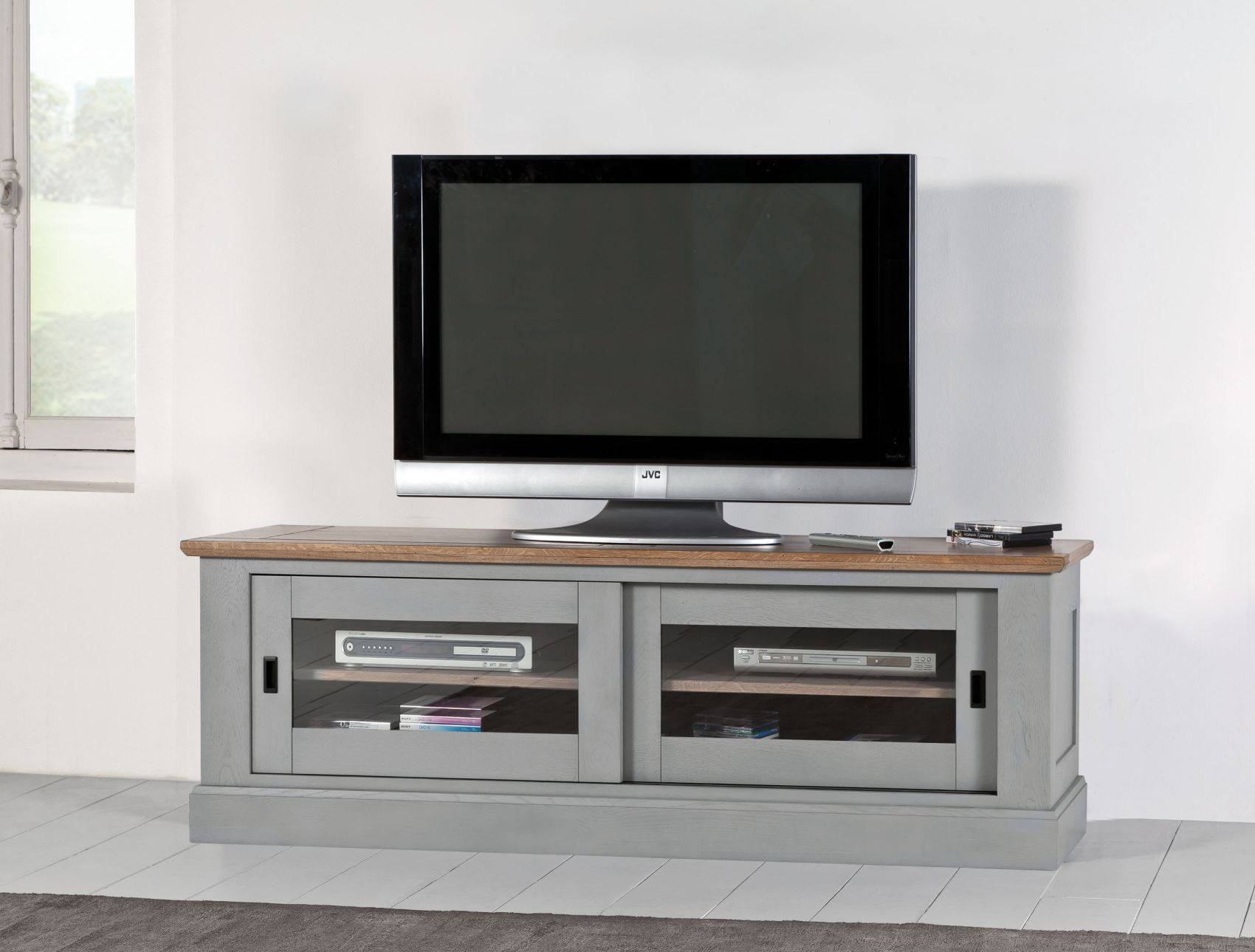 meuble tv romance meubles gibaud. Black Bedroom Furniture Sets. Home Design Ideas
