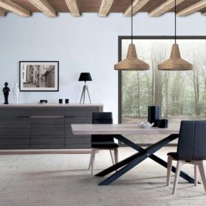 Salle a manger whitney ateliers de langres meubles gibaud - Salle a manger zen ...
