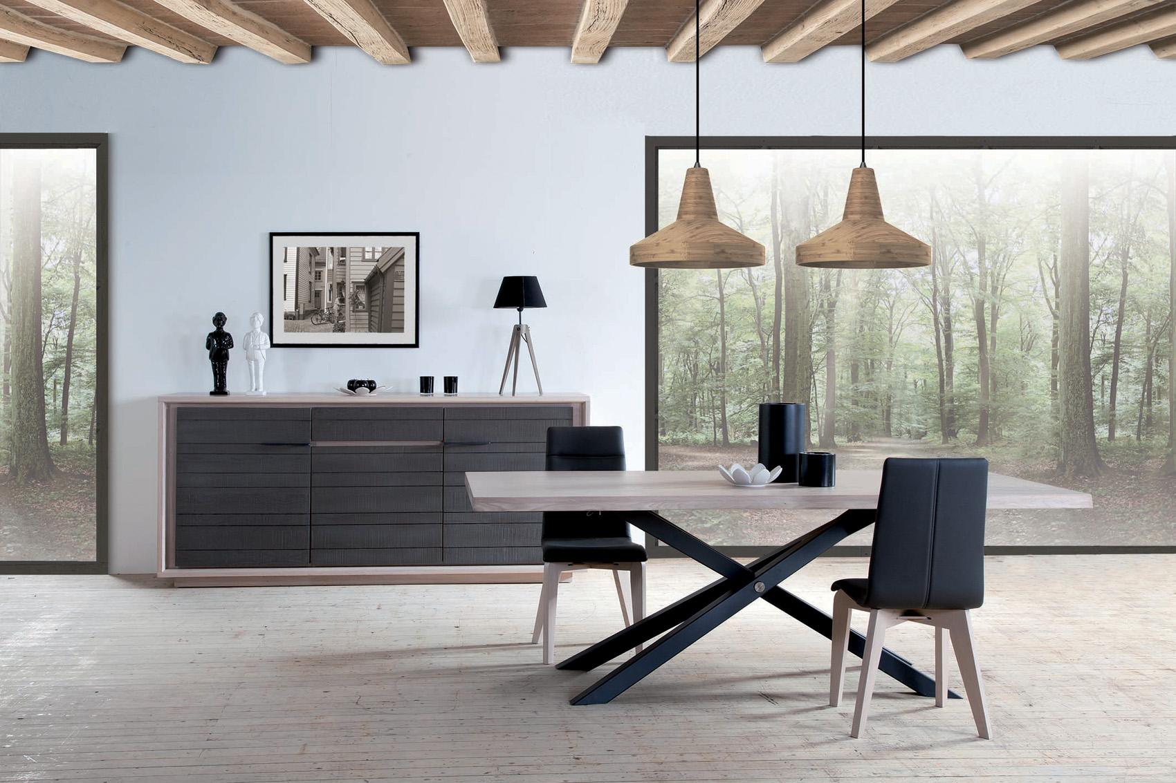 Chaise zen meubles gibaud for Salle a manger zen