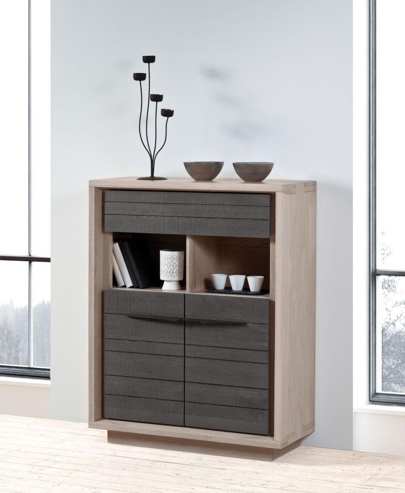 table zen pied metal plateau bois chene meubles gibaud. Black Bedroom Furniture Sets. Home Design Ideas