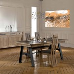 salle-manger-design-contemporaine-chene-metal-ceramique-deauvil-ateliers-de-langres-magasin-meubles-gibaud-cambresis-cambrai-nord-lille-douai-valenciennes