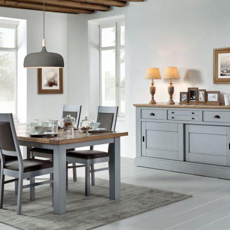 Salle manger contemporaine romance mod le 1 meubles for Modele meuble salle a manger