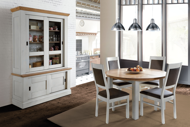 Salle manger contemporaine romance meubles gibaud for Deco salle a manger contemporaine