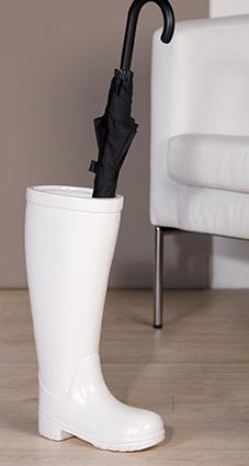 Porte parapluies botte blanche meubles gibaud cateau cambresis - Portaombrelli design originale ...