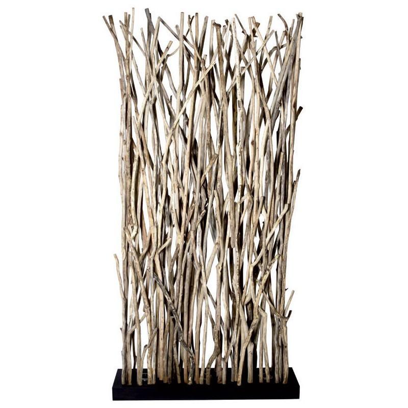 lampadaire lampe ferret bois flotte cloison naturelle meubles gibaud. Black Bedroom Furniture Sets. Home Design Ideas