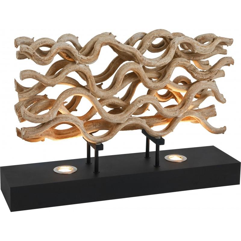 lampe de table savana bois flotte meubles gibaud deco nord. Black Bedroom Furniture Sets. Home Design Ideas