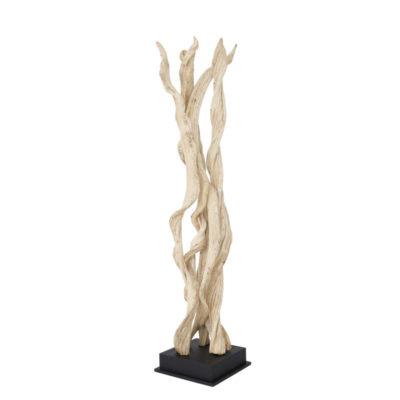 lampadaire nature lianes bois naturel