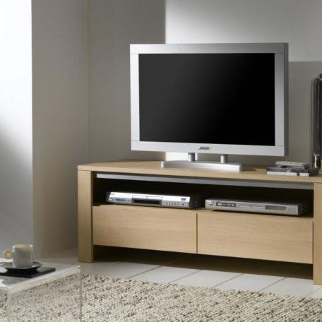 meuble tv 1 tiroir et 1 niche