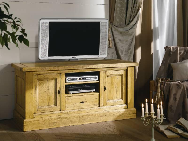 Meuble tv chene massif nogent ateliers de langres francais - Fabricant de meuble en france ...