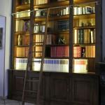 Bibliothèque réalisée sur- mesure chêne massif atelier MEUBLES GIBAUD