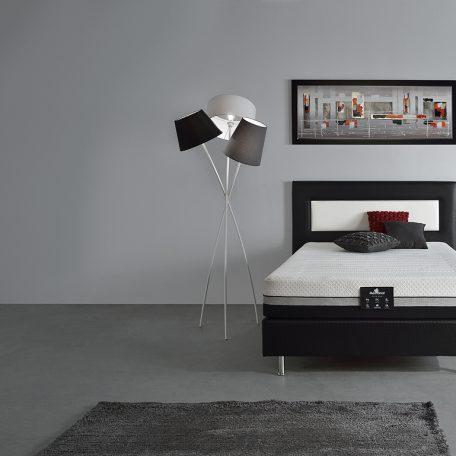 Chambre matelas EXTRA PLUS+ sommier DECOREV + tête de lit PANORAMIQUE Meubles Gibaud
