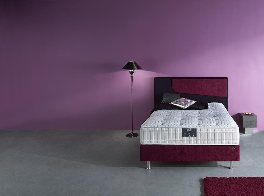 literie matelas fantastic sommier decorev t te de lit diagonale meubles gibaud. Black Bedroom Furniture Sets. Home Design Ideas
