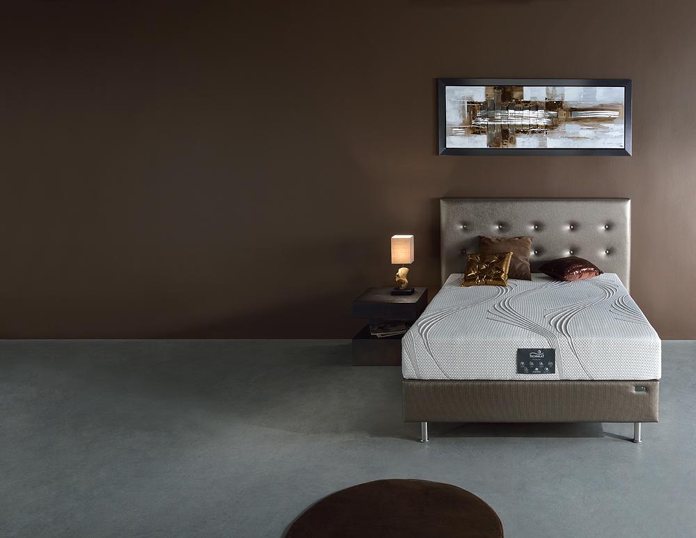 literie matelas pulsion sommier decorev t te de lit bali meubles gibaud. Black Bedroom Furniture Sets. Home Design Ideas