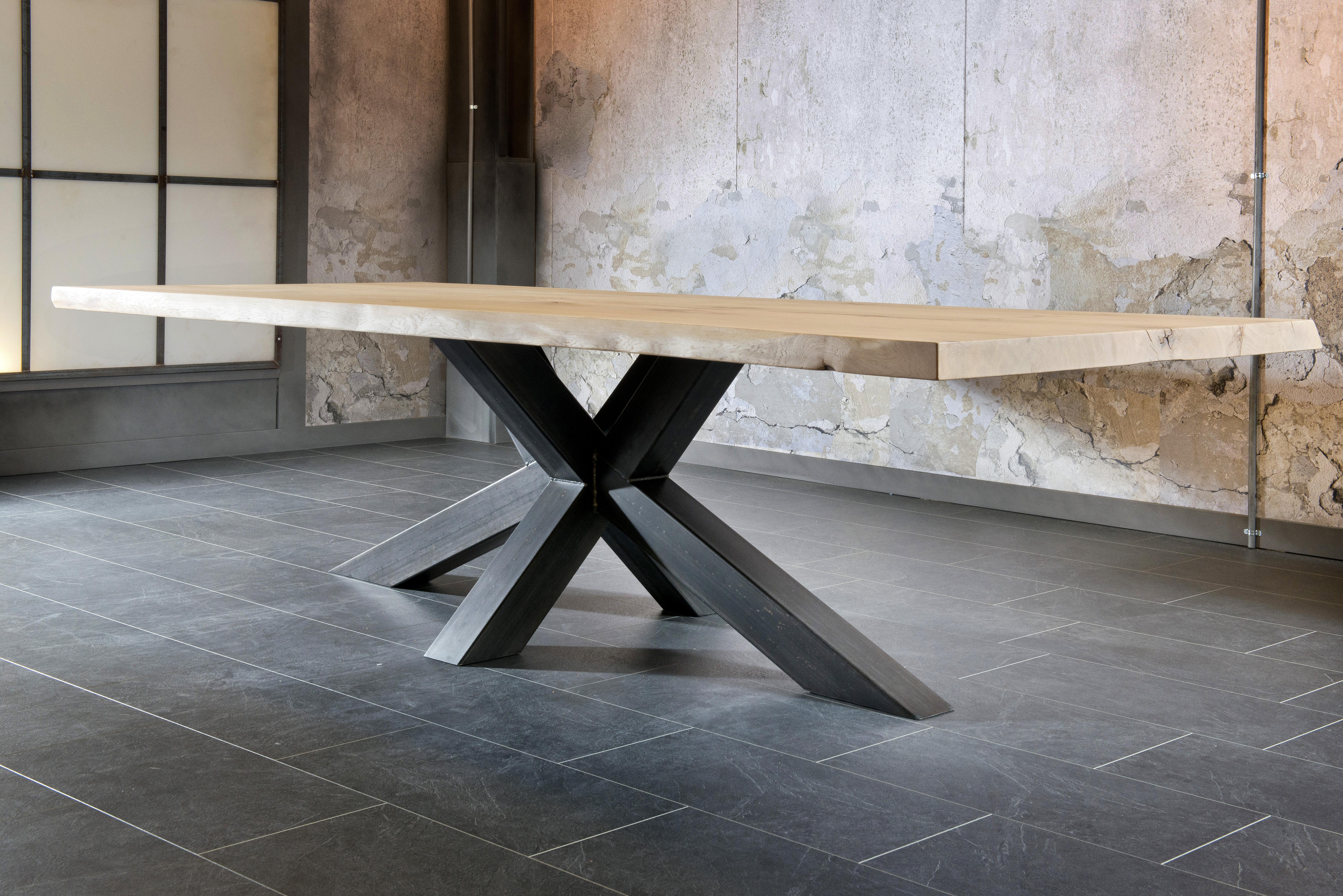 Table Salle A Manger Bois Et Metal Table Basse Noir Et Bois  # Le Catalogue Des Meubles En Bois