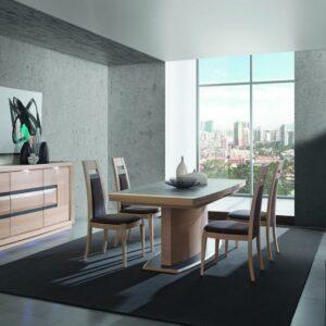 salle-a-manger-moderne-design-marina-cacio-chene-ceramique-meubles-gibaud-nord