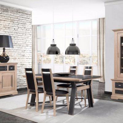 salle-a-manger-chene-urban-meubles-gibaud-le Cateau-Nord-Cambrai-Douai-Valenciennes