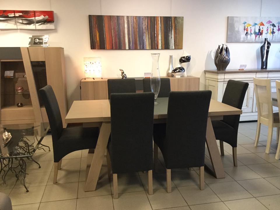Meubles gibaud salle manger chene nord lille cambrai valenciennes - Cuisine 21 douai ...