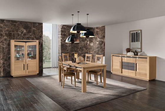 NOUVEAU : la collection Bella en chêne et céramique de chez Cacio