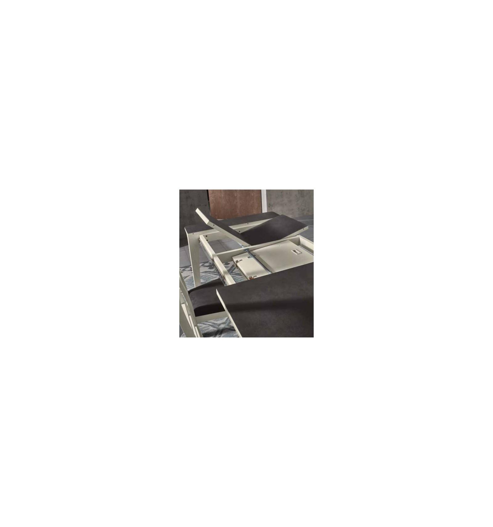 #644E44 Salle A Manger Contemporaine BELLA – Modèle 2 Chêne Blanc  3471 salle a manger contemporaine fabrication francaise 1600x1710 px @ aertt.com