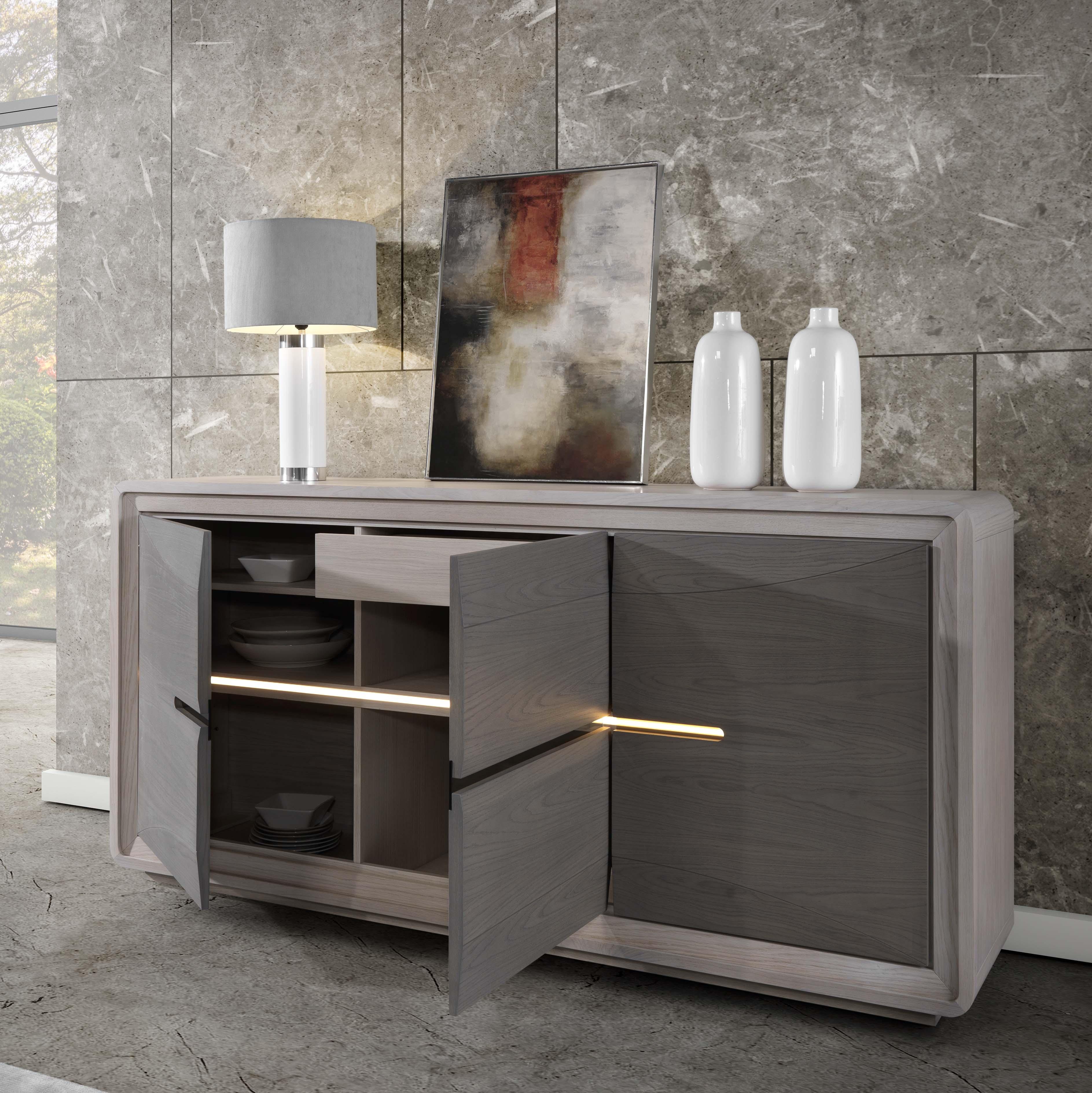 Bahut meuble free bahutliving meuble de france occasion for Armoire de salle a manger