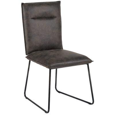 chaise-tissus-metal-casita-CHA600GRI-meubles-gibaud
