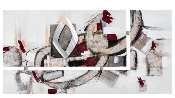 peinture toile abstrait decoration meubles gibaud nord. Black Bedroom Furniture Sets. Home Design Ideas