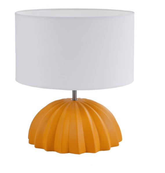 Lampe a poser deco flam luce jaune meubles gibaud for Lampe deco interieur
