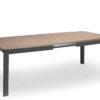 salle-a-manger-table-avec-allonge-bois-chene-clair-noir-meubles-gibaud
