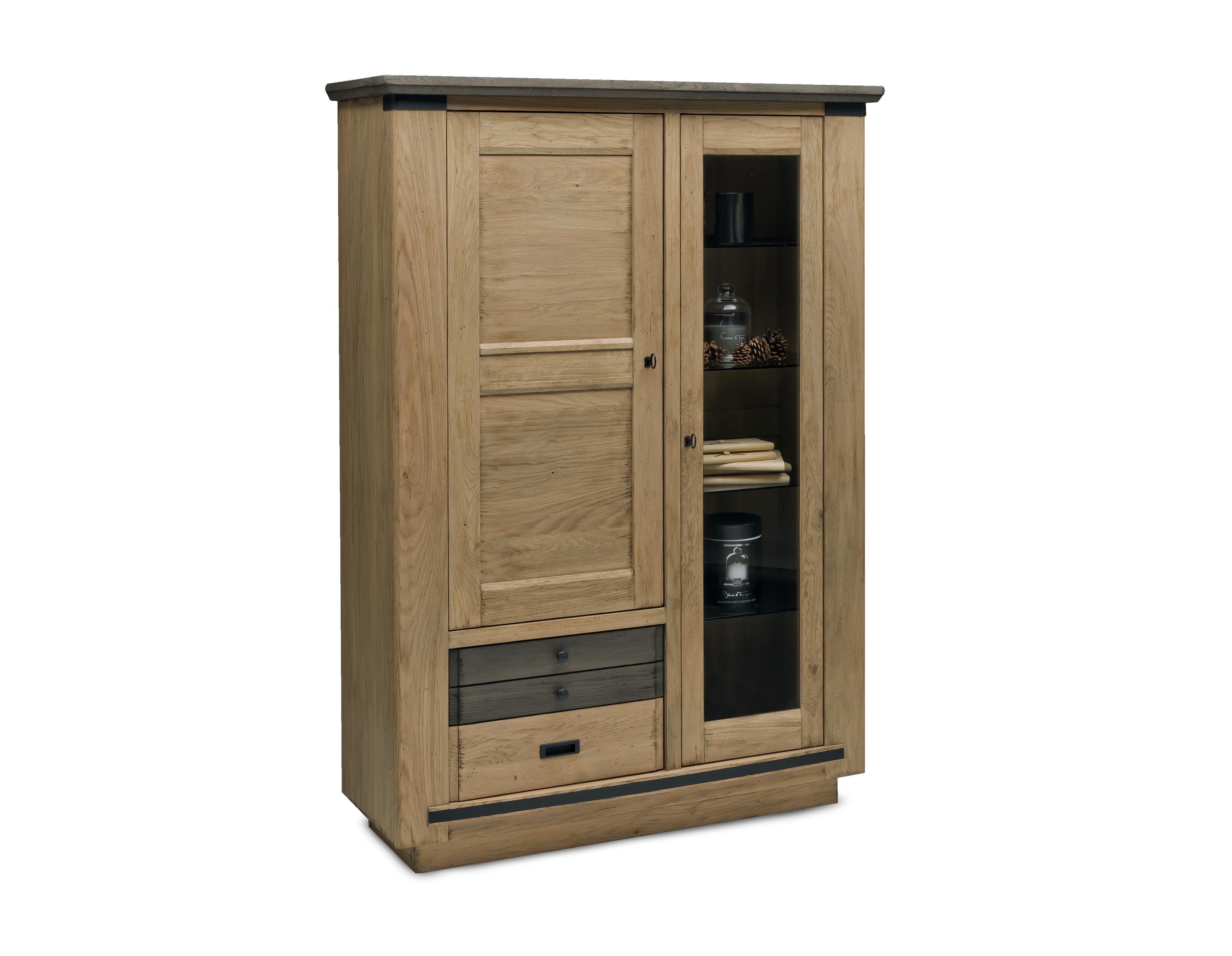 Meuble salle a manger magellan ateliers de langres meubles for Meuble salle a manger vitrine