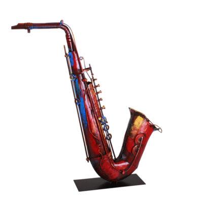 decoration-instrument-musique-saxophone-metal