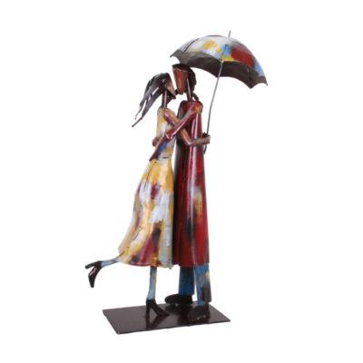 statue-en-metal-decoration-couple-amoureux-pigment-cadeau-mariage-pacs-pour-couple