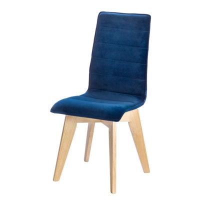 chaise pied rotatif en chene