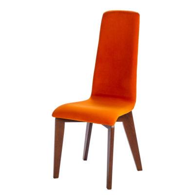 chaise-IZI-PIETEMENT-RECTANGLE-bois-chene-massif-tissu-orange