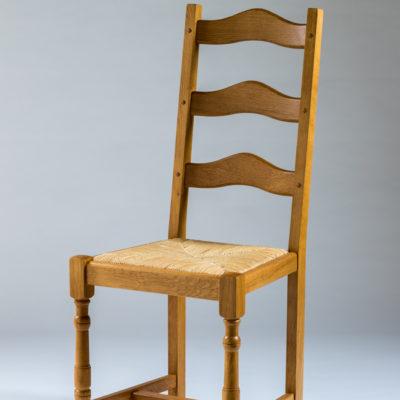 chaise rustique en chene campagne