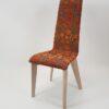 chaise design confortable tissu