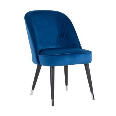 Chaise pieds métal assise tissu au choix – Richmond Interiors – JULIUS