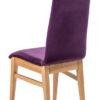 chaise tres confortable tissu pieds chene massif qualite