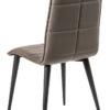 chaise simili marron