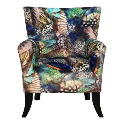 fauteuil motif multico