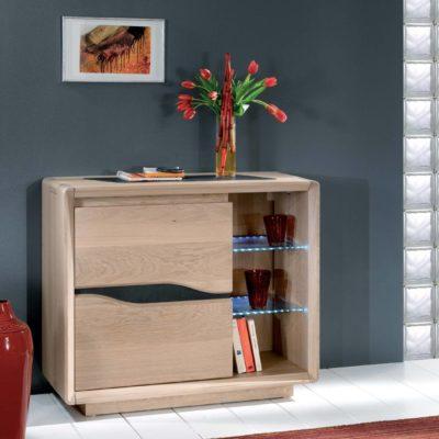 meuble entree bois et ceramique