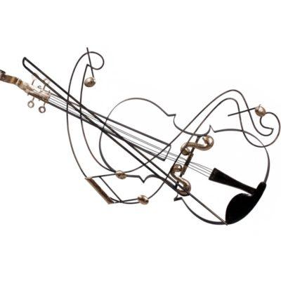 deco mural violon design