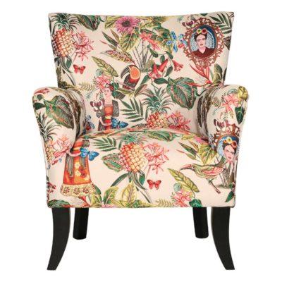 fauteuil Fauteuil tissu Frida Kahlo