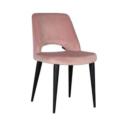 Chaise modele TABITHA avec tissus PINK