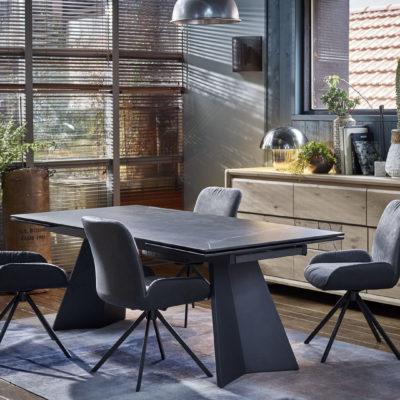 table-contemporaine-ceramique-noir-meubles-gibaud